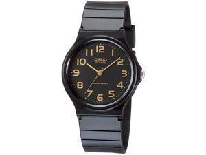 Casio Quartz 3 Hands Classic Resin Watch MQ24-1B2