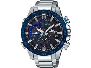 Men's Casio Edifice Bluetooth Steel Watch EQB800DB-1A