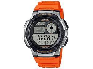 Men's Casio World Time Digital Sport Watch AE1000W-4BV