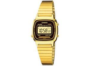 Women's Casio Classic Gold Tone Digital Watch LA670WGA-1