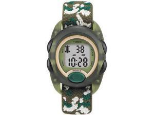 Kid's Timex Time Machines Green Camo Digital Watch T71912 T719129J