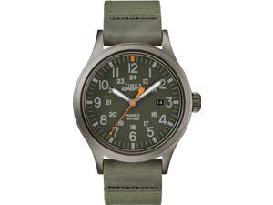 Timex Men's Expedition Scout 40mm Fabric Strap |Green| Watch TW4B14000