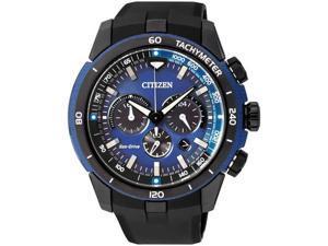 Men's Citizen Eco Drive Ecosphere Chronograph Watch CA4155-12L