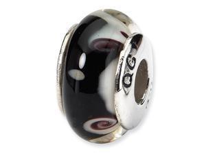 Jewelry Adviser Sterling Silver Medium Satin Number 16