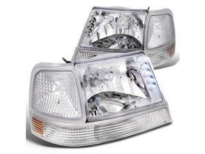DORMAN Headlight Headlamp Pair Set of 2 RH LH for 09-12 International ProStar