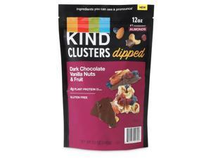 Kind Dark Chocolate and Vanilla Nut and Berries Dipped Clusters (12 Ounce)