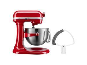KitchenAid Professional Series 6 Quart Bowl Lift Stand Mixer w/ Flex Edge - Red