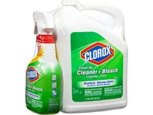Clorox Clean-Up Cleaner + Bleach Value Pack - 212 Fluid Ounce