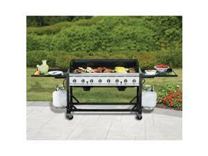 Open box retail refurbished bbq grills home appliances home members mark 8 burner fandeluxe Image collections