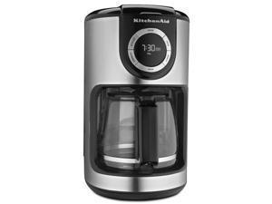 KitchenAid KCM1202OB 12-Cup Glass Carafe Coffe Maker - Onyx Black