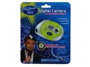 Disney Digital Blue American Idol Keychain Camera