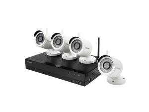 Samsung 4-Channel 1080p HD IP NVR Security System, 1 TB HDD, 4 Wireless Cameras