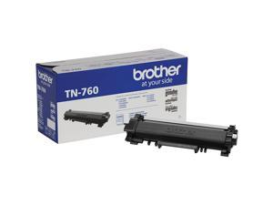 Brother TN760 High Yield Toner Cartridge - Black
