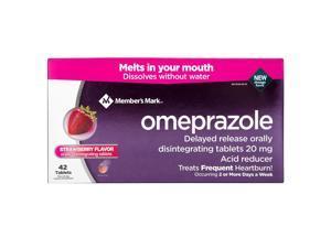 Member's Mark Omeprazole Delayed Release Disintegrating Tablets 20 mg (42 Count)