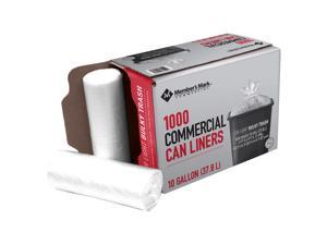 ProForce Commercial Can Liners - 10 gal - 1000 ct.