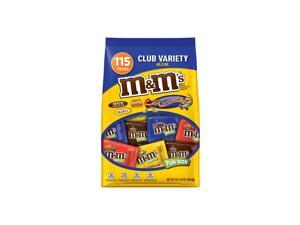 M&M'S Chocolate Candy Fun Size Club Variety Mix (65.5 oz., 115 ct.)