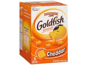 Pepperidge Farm Goldfish Cheddar Baked Snack Crackers (66 Ounce, 3 Count)