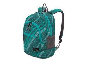 SWISSGEAR 2821 Laptop Backpack (Blue Grass/Urban Heather Track Print)