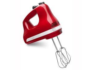 KitchenAid Ultra Power 5-Speed Red Hand Mixer KHM512ER