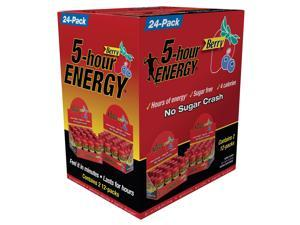 5 Hour Energy - Berry, 24 -Count 1.93 oz Bottles