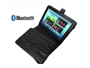 GSAGear - 10.1 Inch Protfolio Case with Removable Bluetooth ® Keyboard for Samsung GALAXY Note 10.1