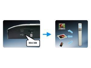 Avision 000-0783B-01G MiWand 2 Mobile Handheld Scanner, WiFi - Black