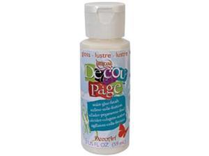 DecoArt Decoupage Glue-2 Ounces Gloss