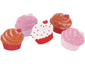 Eyelet Outlet Brads-Cupcake 12/Pkg