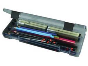 "ArtBin Pencil Box-12.38""X4.875""X1.75"" Translucent Charcoal"