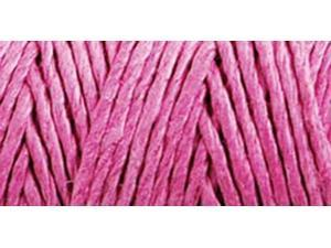 Hemp Cord Spool 20# 205'/Pkg-Bright Pink
