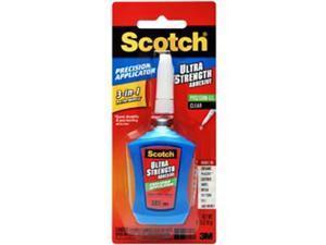 Scotch Super Glue Liquid Precision Applicator 0.14 oz Clear ADH670