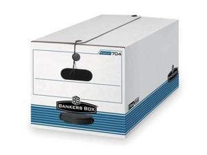 Banker Box,Drawer,Ltr,Wht//Blu,PK6 00311