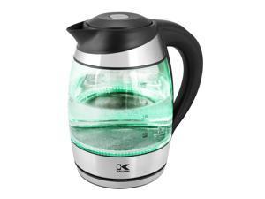 Kalorik Glass Digital Water Kettle with Color Changing LED lights