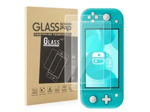 Screen Protector For Nintendo Switch Lite (2 Pack) - Nintendo Switch Lite Tempered Glass Screen Protector Cover Accessory, 9H Hardness, Anti-Scratch, Premium Clarity, Bubble-Free Install