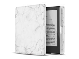 """Case for Kindle 8th Generation - Slim & Light Smart Cover Case with Auto Sleep & Wake for Amazon Kindle E-reader 6"""" Display, 8th Generation 2016 Release (Marble White)"""