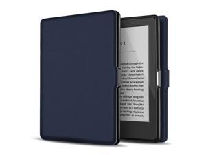 "Case for Kindle 8th Generation - Slim & Light Smart Cover Case with Auto Sleep & Wake for Amazon Kindle E-reader 6"" Display, 8th Generation 2016 Release (Dark Blue)"