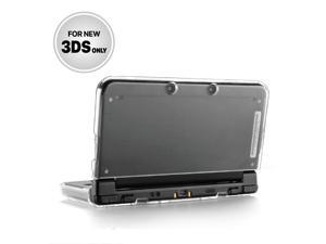 New 3DS Case - Ultra Clear Crystal Transparent Hard Shell Protective Case Cover Skin for New 2015 Nintendo 3DS