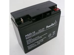 This is an AJC Brand Replacement Maruson Technology Power Personal POP-400 12V 4.5Ah UPS Battery