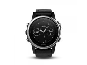 Garmin Fenix 5 Slate Gray With Black Band Fenix 5 Multisport GPS Watches for Fitness