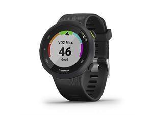Garmin Forerunner 45, 42MM Easy-to-Use GPS Running Watch with Garmin Coach Free Training Plan Support, Black