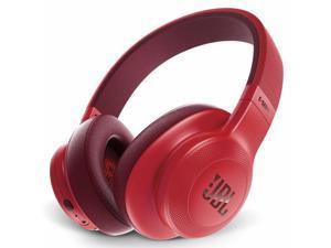 JBL E55BTRED Wireless Over-Ear Headphones - Red