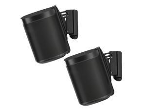 Flexson Wall Mounts for Sonos One - Pair (Black)