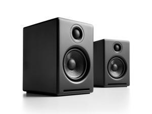 Audioengine A2+ Premium Powered Desktop Speakers - Pair (Black)