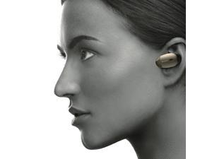 Sony WF-1000X/NM1 True Wireless Noise-Cancelling Earbuds with Built-In Mic (Gold)