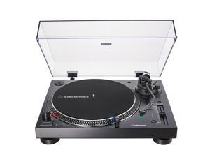 AudioTechnica AT-LP120XUSB-BK Direct-Drive 3-Speed Turntable with USB Output (Black)