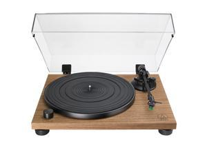 AudioTechnica AT-LPW40WN Fully Manual Belt-Drive Turntable (Walnut)