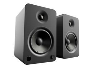 Kanto YU6 Powered Bookshelf Speakers with Built-In Bluetooth - Pair (Matte Black)