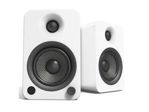Kanto YU4 Powered Bookshelf Speakers with Built-In Bluetooth - Pair (Matte White)