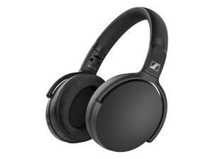 Sennheiser HD 350BT Wireless Over-Ear Headphones with Bluetooth 5.0 (Black)