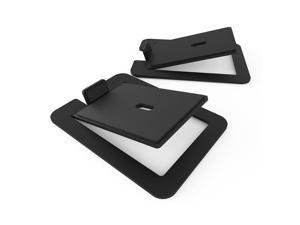 Kanto S6 Desktop Speaker Stands for Large Speakers, Black (Pair)